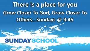Sunday School @ Fellowship Baptist Church | Baxter Springs | Kansas | United States