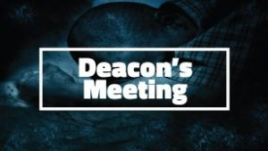 Deacon's Meeting @ Fellowship Baptist Church | Baxter Springs | Kansas | United States